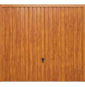 Steel Woodgrain Garage Doors